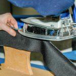 Selber nähen macht Spass ⎪ Nähkurs bei Couture-Rindlisbacher mit dem Industrie Bügeltisch